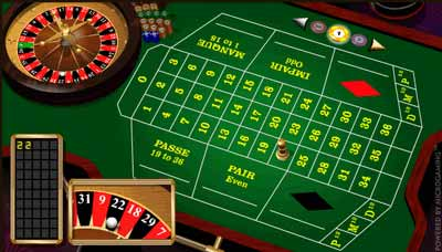 Roulette Francese Microgaming