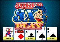 3x Joker Poker Play