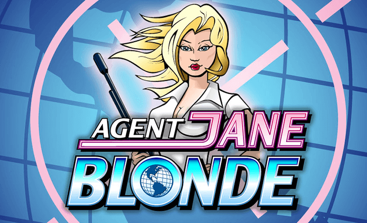 Agent Jane Blonde Slot Machine