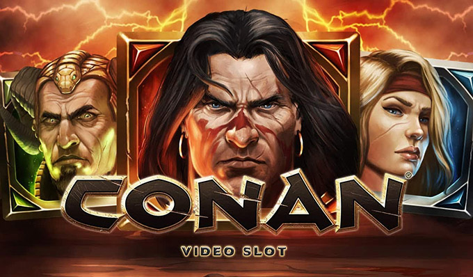Conan Slot Machine Netent