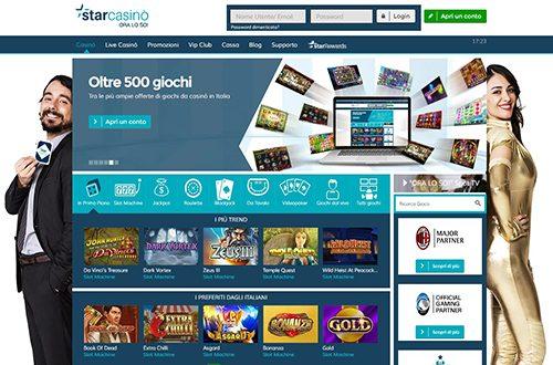 Starcasino Screenshot